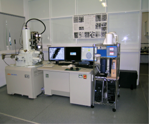Analytical FEG-SEM, JEOL 7001F with Oxford INCA light elements EDS detector and EBSD detector.