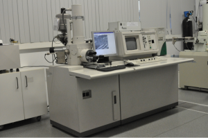 Analytical SEM, Hitachi S2400 with Bruker light elements EDS detector.