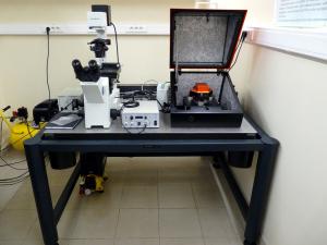 Atomic force microscope.